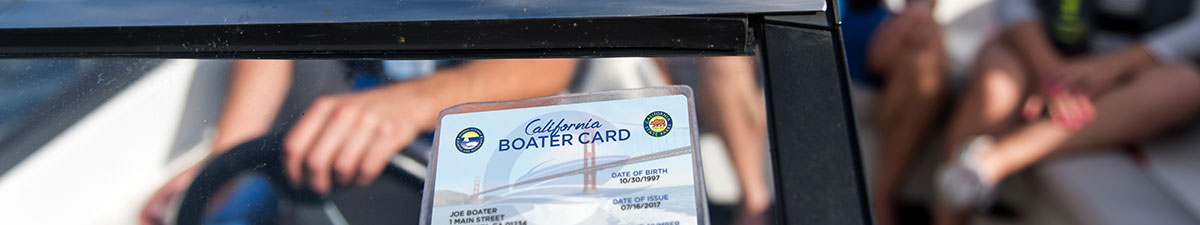 Boater Card on Boat
